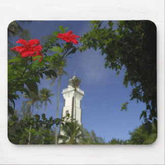 South Pacific, Polinesia francesa, Tahití. Hibisco Tapete De Raton