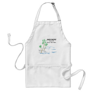 South Pacific, The Musical Adult Apron