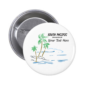 South Pacific, The Musical Pinback Button