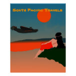 South Pacific Travel Posters