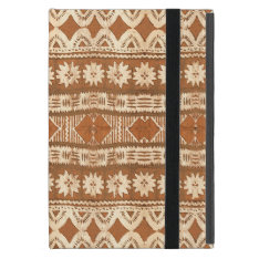 South Pacific Tribal Wood Carved Pattern Ipad Mini Cover For Ipad Mini at Zazzle