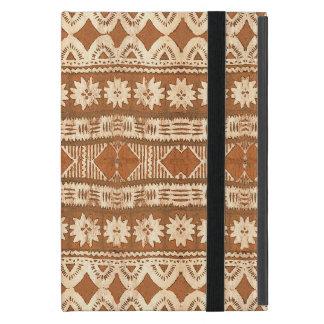 South Pacific Tribal Wood Carved Pattern iPad Mini iPad Mini Case