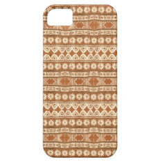South Pacific Tribal Wood Carved Pattern iPhone 5 iPhone SE/5/5s Case at Zazzle
