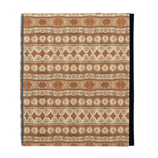 South Pacific Tribal Wood Pattern iPad Case