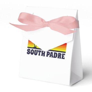 South Padre Island Texas Favor Box