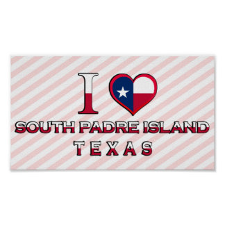 South Padre Island, Texas Poster