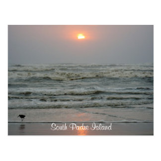 South Padre Island Texas Sunrise Post Card