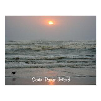 South Padre Island Texas Sunrise Post Card