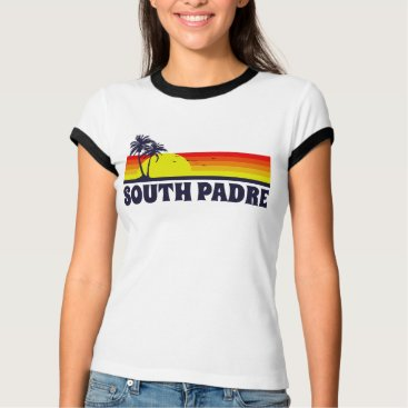 Beach Themed South Padre Island Texas T-Shirt