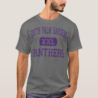 South Palm Gardens - Panthers - High - Weslaco T-Shirt