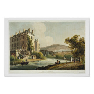 South Parade, from 'Bath Illustrated by a Series o Poster
