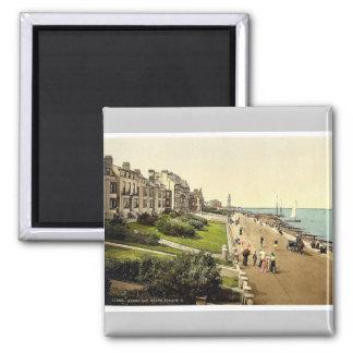 South Parade, II., Herne Bay, England rare Photoch 2 Inch Square Magnet