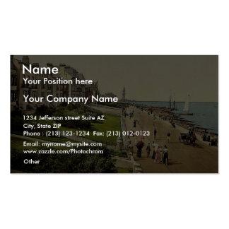 South Parade, II., Herne Bay, England rare Photoch Business Cards