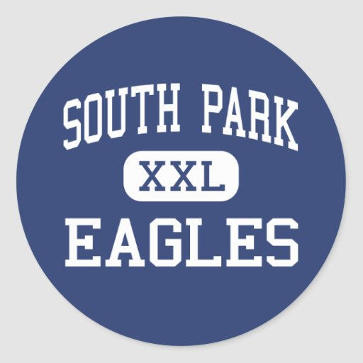 South Park Eagles Middle Library Sticker