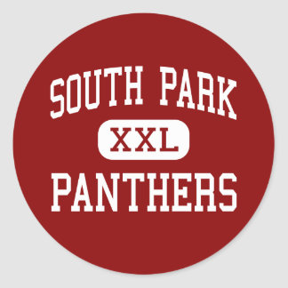 South Park - Panthers - Middle - Oshkosh Wisconsin Classic Round Sticker