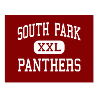 South Park - Panthers - Middle - Oshkosh Wisconsin Postcard
