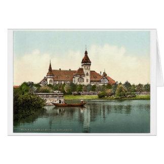 South Park Restaurant, Breslau, Silesia, Germany ( Greeting Card