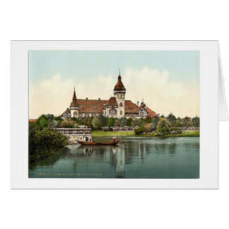 South Park Restaurant, Breslau, Silesia, Germany ( Card