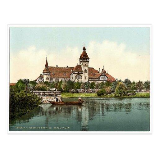 South Park Restaurant, Breslau, Silesia, Germany ( Postcard