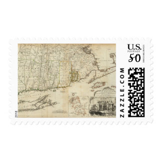 South part of The Provinces of Massachusetts Bay Postage