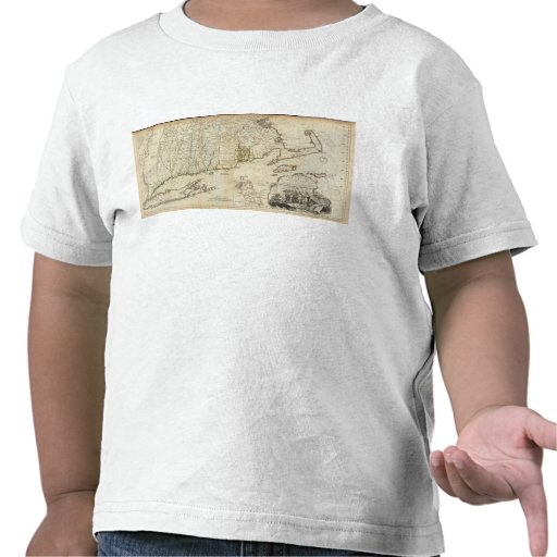 South part of The Provinces of Massachusetts Bay T Shirt