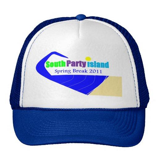 South Party Island Spring Break Cap Hat