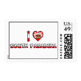 South Pasadena, CA Postage Stamp