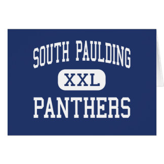 South Paulding Panthers Middle Dallas Greeting Cards