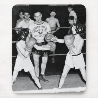 South Philly Boys Club Boxing, 1940s Mouse Pad