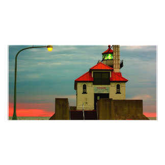 South Pier Lighthouse Photo Card Template