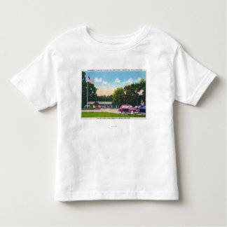 South Point Parking Area Scene Tee Shirt