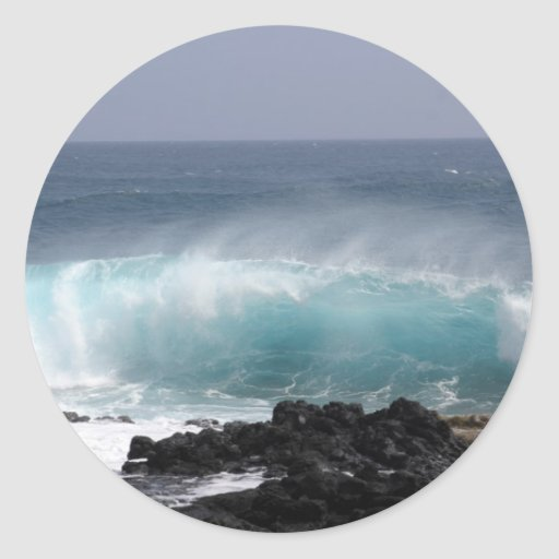 South Point Wave, Hawaii Sticker