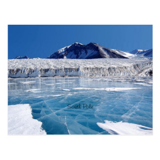 South Pole - Antartica Tarjeta Postal