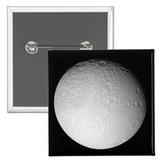 South Pole de la luna Tethys de Saturn Pins
