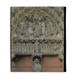South Portal tympanum depicting Christ Enthroned w iPad Folio Cases