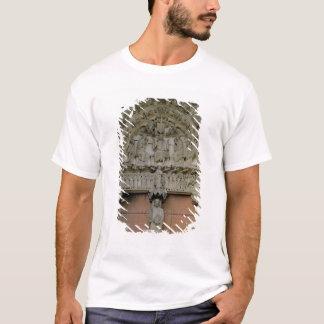 South Portal tympanum depicting Christ Enthroned w T-Shirt