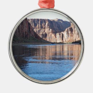 South Rim Grand Canyon Colorado River Metal Ornament