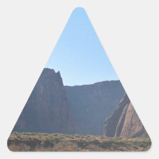 South Rim Grand Canyon Colorado River Triangle Sticker
