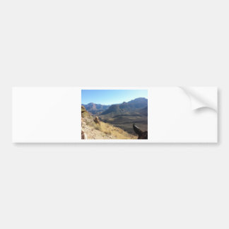 South Rim Grand Canyon National Park Phantom Ranch Bumper Sticker