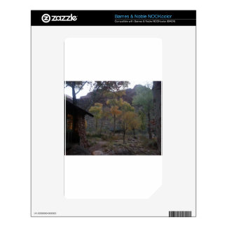 South Rim Grand Canyon National Park Phantom Ranch Decals For The NOOK Color