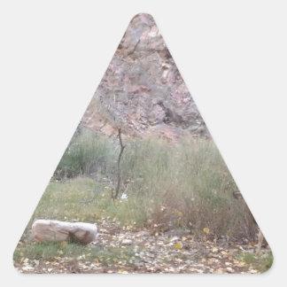 South Rim Grand Canyon National Park Phantom Ranch Triangle Sticker