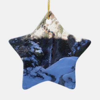 South Rim Grand Canyon Overlook Ceramic Ornament