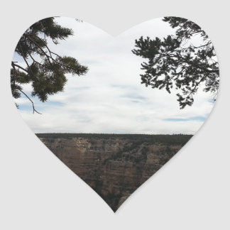 South Rim Grand Canyon Overlook Hopi Point Heart Sticker