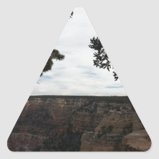 South Rim Grand Canyon Overlook Hopi Point Triangle Sticker