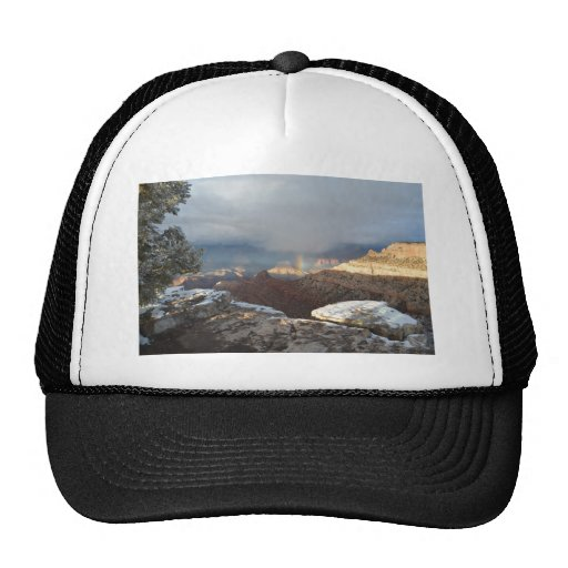 South Rim Grand Canyon Overlook Rainbow Hats