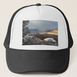 South Rim Grand Canyon Overlook Rainbow Trucker Hat