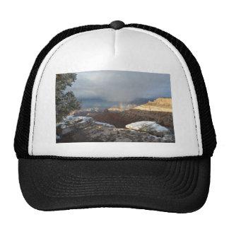 South Rim Grand Canyon Overlook Rainbow Trucker Hat