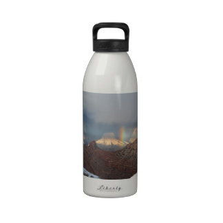 South Rim Grand Canyon Overlook Rainbow Water Bottle