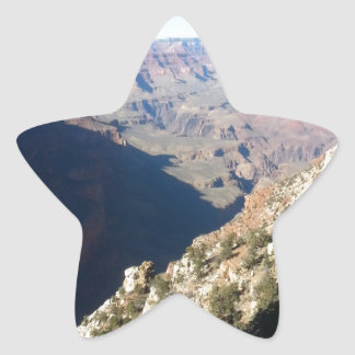 South Rim Grand Canyon Overlook Star Sticker