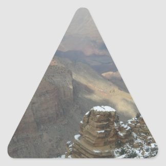 South Rim Grand Canyon Overlook Triangle Sticker